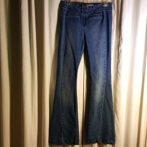 Free People jeans bootcut and flare.